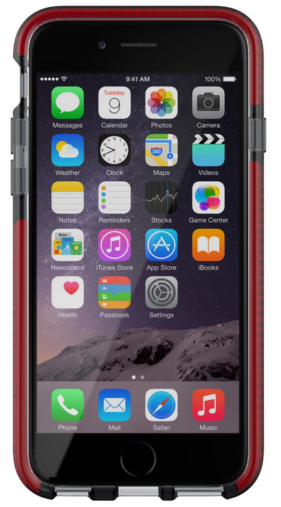 Tech21 Evo Mesh Cover Grey,Red