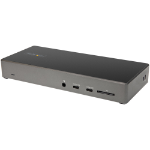 StarTech.com USB C Dock - Triple 4K Monitor USB Type-C Docking Station - 100W Power Delivery - DP 1.4 Alt Mode & DSC, 2x DisplayPort 1.4/HDMI 2.0 - 6xUSB (2x 10Gbps) - Windows/Chrome DK31C2DHSPDUE