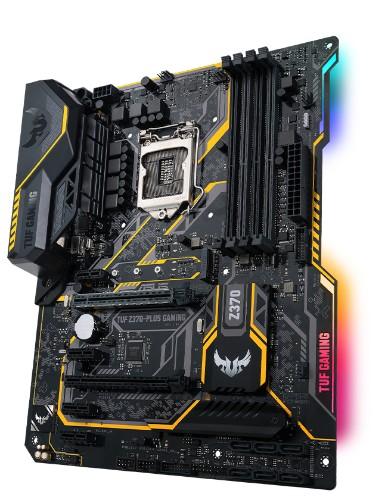 ASUS TUF Z370-PLUS GAMING motherboard LGA 1151 (Socket H4) ATX Intel® Z370