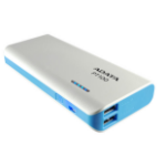 ADATA PT100 Lithium-Ion (Li-Ion) 10000mAh Blue, White power bank