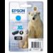 Epson Polar bear Cartucho 26XL cian (etiqueta RF)