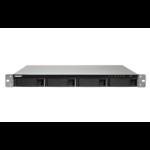QNAP TS-453BU-RP NAS Rack (1U) Ethernet LAN Black, Grey