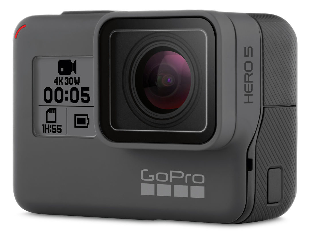 GoPro HERO5 Black 12MP 4K Ultra HD Wi-Fi action sports camera