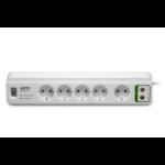 APC Stekkerdoos met overspanningsbeveiliging 5x stopcontact + Coax