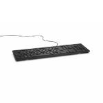 DELL KB216 keyboard USB QWERTY UK International Black