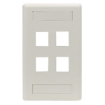 Black Box WP474 wall plate/switch cover White