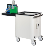 lockncharge iQ 20 Cart Freestanding Steel White