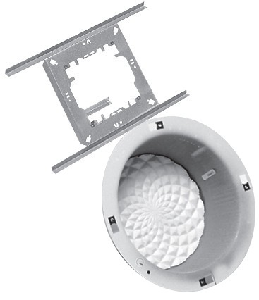 Valcom V-9916M speaker mount Ceiling Aluminium
