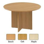 Arista FF ARISTA ROUND MEETING TABLE OAK