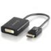 ALOGIC Premium 15cm DisplayPort to DVI Adapter - Male to Female (Retail BOX PACKAGING)