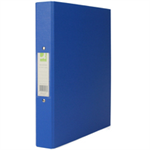Q-CONNECT KF02003 Polypropylene (PP) Blue ring binder