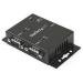 StarTech.com Concentrador Hub Industrial de 2 Puertos Serie Serial RS232 a USB Montaje Riel DIN Pared