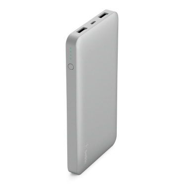 Belkin Pocket Power 10K batería externa Plata Polímero de litio 10000 mAh