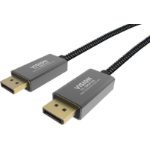 Vision TC 3MDP/HQ DisplayPort cable 3 m Black