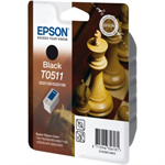Epson C13T05114010 (T0511) Ink cartridge black, 900 pages, 24ml