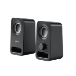 Logitech Z150 loudspeaker 6 W Black Wired 3.5 mm