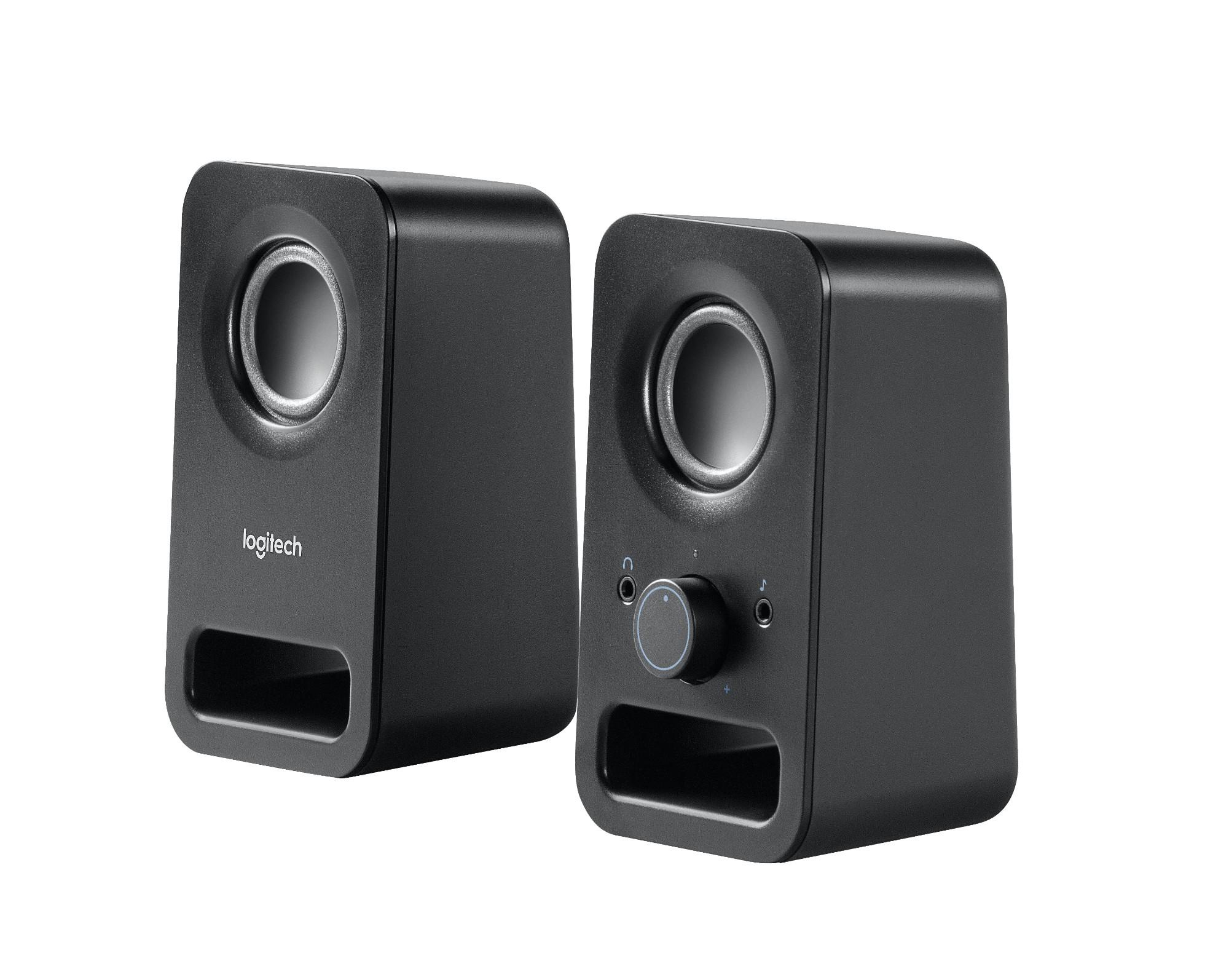 Logitech Z150 6W Black loudspeaker