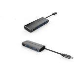 Microconnect USB3.1CCOM9 USB 3.0 (3.1 Gen 1) Type-C 5000Mbit/s Black interface hub