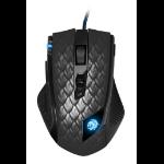 Sharkoon Drakonia Black mouse USB Type-A Laser 8200 DPI Right-hand