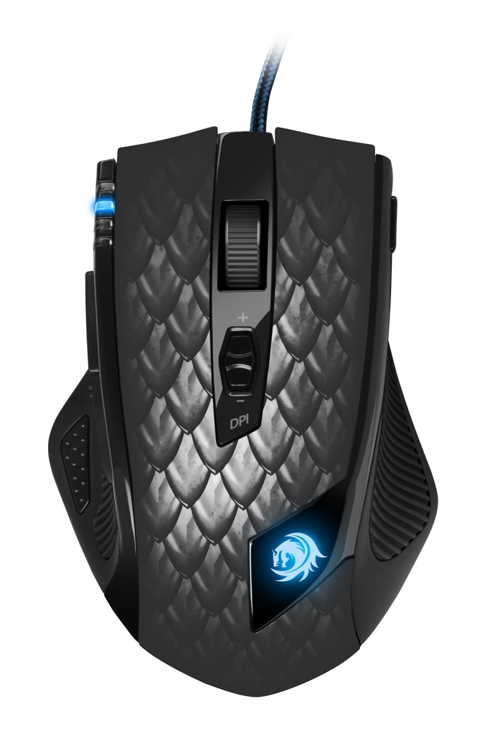 DRAKONIA GAMING MOUSE BLACKLASER MOUSE