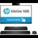 "HP EliteOne 1000 G1 60.5 cm (23.8"") 1920 x 1080 pixels Touchscreen 7th gen Intel® Core™ i7 16 GB DDR4-SDRAM 1256 GB HDD+SSD Black All-in-One PC"