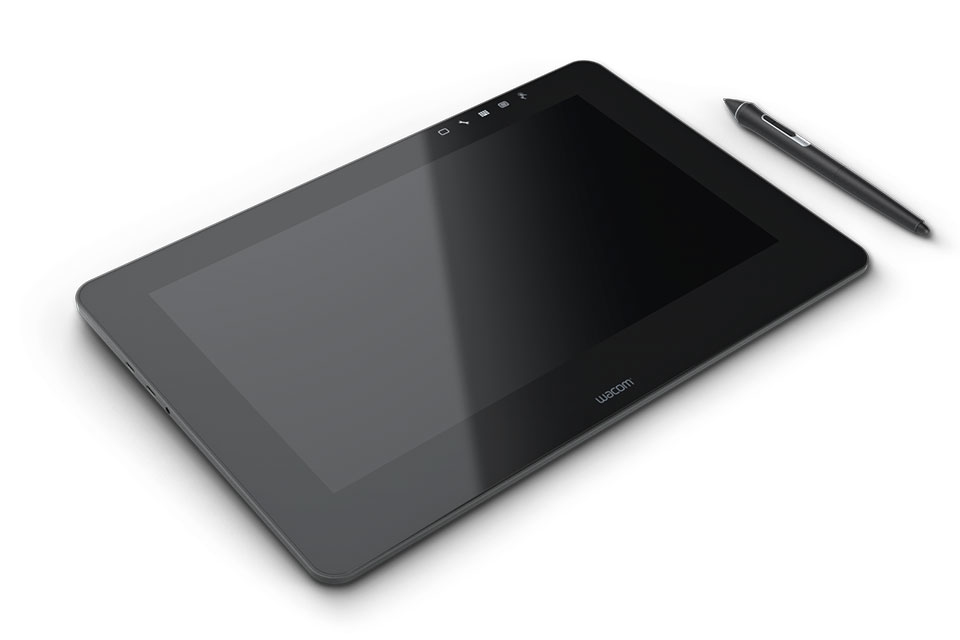 Wacom CINTIQ PRO 13IN FHD UK 5080lpi 294 x 166mm USB Black graphic tablet