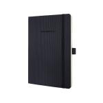Sigel Conceptum writing notebook A5 194 sheets Black
