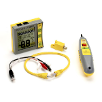 Black Box TS400A network cable tester Grey,Yellow