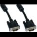 Cables Direct SVGA, 15m, M-M VGA cable VGA (D-Sub) Black