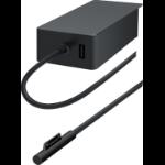 Microsoft Surface ADU-00006 power adapter/inverter Indoor 102 W Black