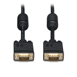 Tripp Lite VGA Coax Monitor Cable, High Resolution Cable with RGB Coax (HD15 M/M), 1.83 m (6-ft.)