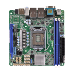 ASROCK_RACK Asrock Rack C236 WSI Server Board, Intel C236, 1151, Mini ITX, DDR4, Dual GB LAN, Serial Port