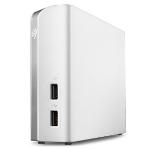 Seagate Backup Plus Hub for Mac 8000GB White external hard drive