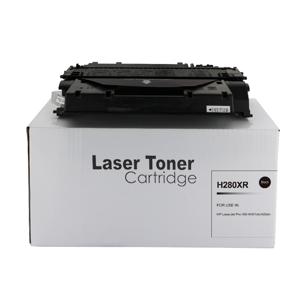 Remanufactured HP CF280X (80X) Black Toner Cartridge