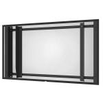 "Peerless EWL-OH46F flat panel wall mount 46"" Black"