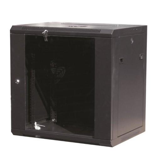 Garbot W02-6412GB rack cabinet 19U Wall mounted rack Black