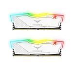 Team Group DELTA RGB 8GB White Heatsink with RGB LEDs (2 x 4GB) DDR4 2400MHz DIMM System Memory