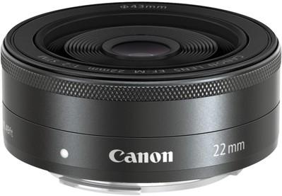 Canon EF-M 22mm f/2 STM Wide lens Black