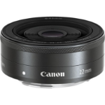 Canon EF-M 22mm f/2 STM Wide lens Black