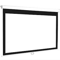 Connect - 210cm x 157.5cm - 4:3 - Manual Projector Screen - Slight Scratches to the Case - Clearance Product