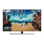 "Samsung Series 8 UE49NU8000TXXU LED TV 124.5 cm (49"") 4K Ultra HD Smart TV Wi-Fi Black, Silver"
