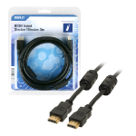 Innovation IT 5A 500976 DISPLAY HDMI cable 2 m HDMI Type A (Standard) Black