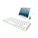 Logitech 920-008147 mobile device keyboard White Lightning