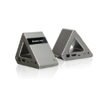 iogear GW4K30GH60 AV extender AV transmitter & receiver Silver