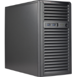Supermicro SuperChassis 731i-403B Mini Tower Black 400 W