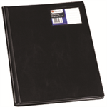 Rexel Nyrex™ Slimview A4 Display Book 12 Pockets Black