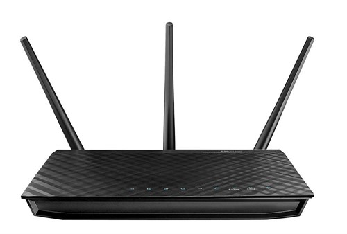 ASUS RT-AC66U wireless router Dual-band (2.4 GHz / 5 GHz) Gigabit Ethernet