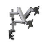 V7 Dual Stack Touch Adjust Monitor Mount