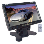 "Pyle PLHR77 7"" 1440 x 234pixels Black car TFT monitor"