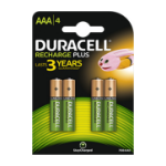 Duracell Rechargeable Plus AAA Rechargeable battery Nickel-Metal Hydride (NiMH)